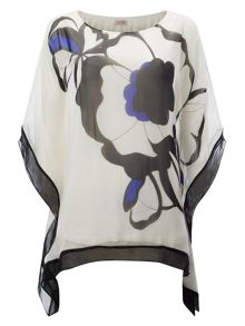 Phase Eight Neva oversized silk blouse