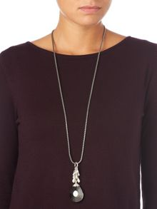 Carlie crystal pendant necklace