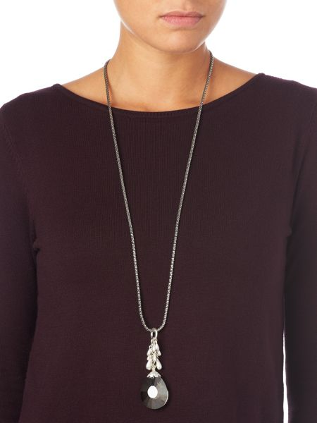 Phase Eight Carlie crystal pendant necklace
