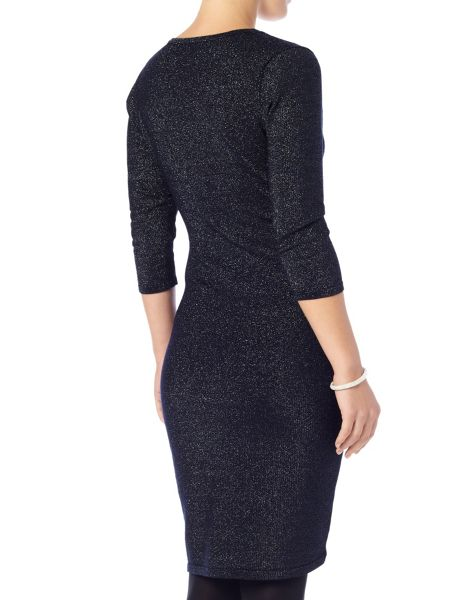 Phase Eight Shimmer maisie wrap dress