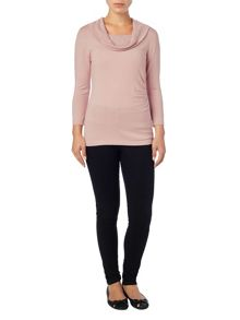 Phase Eight Carlie cowl knit top