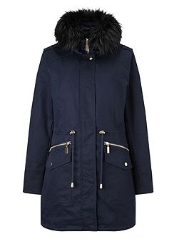 Erika smart parka coat