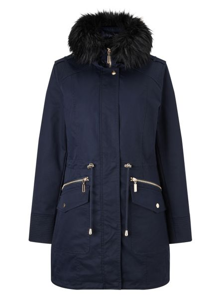 Phase Eight Erika smart parka coat