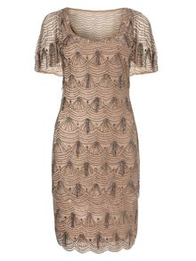 Phase Eight Colby beaded dress
