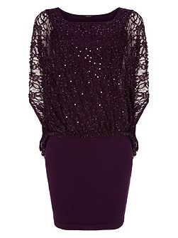 Serrina Sequin Dress