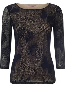 Beata lace top