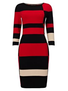 Phase Eight Mackenzie colour block dress