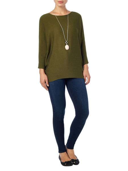 Phase Eight Becca batwing long sleeved jumper