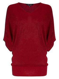 Kareena shimmer knit jumper