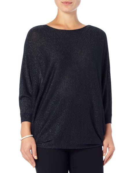 Phase Eight Shimmer becca batwing knit jumper