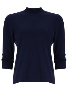 Phase Eight Marlee plain turtle neck knit top