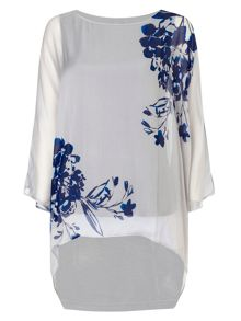 Phase Eight Cordelia silk print blouse