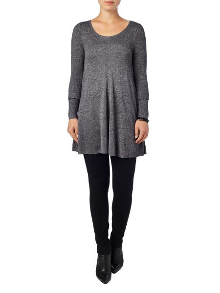Phase Eight Marl cali swing knitted top