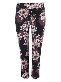 Erica floral trousers