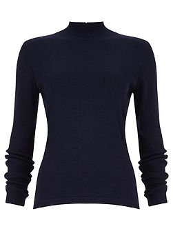 Rita zip back knit jumper