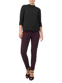 Phase Eight Erica Oval Jacquard Trousers