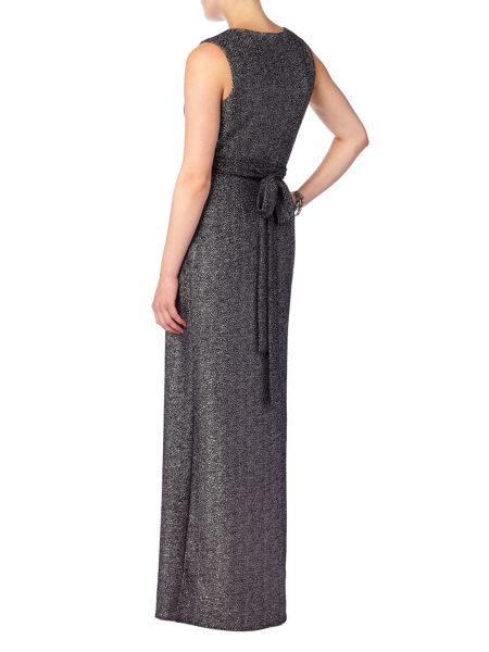 Phase Eight Kylie metallic wrap dress