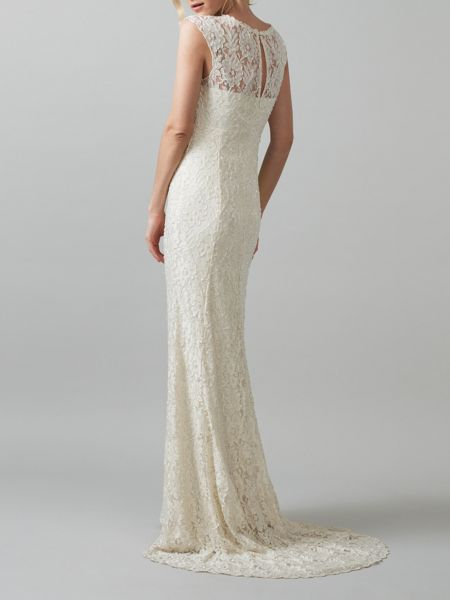 Phase eight giovanna embellished wedding dress pearl house of fraser