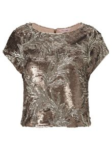 Phase Eight Nasia sequin top