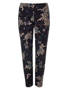 Phase Eight Oriental print trousers