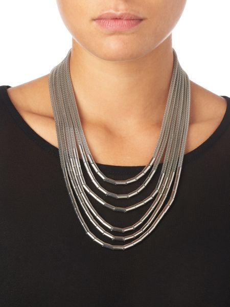 Phase Eight Tia multi strand necklace