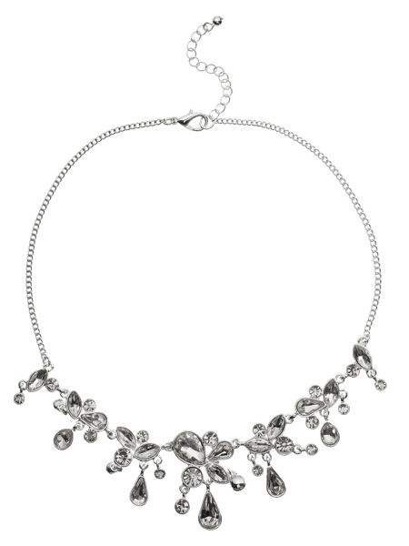 Phase Eight Helena crystal droplets necklace