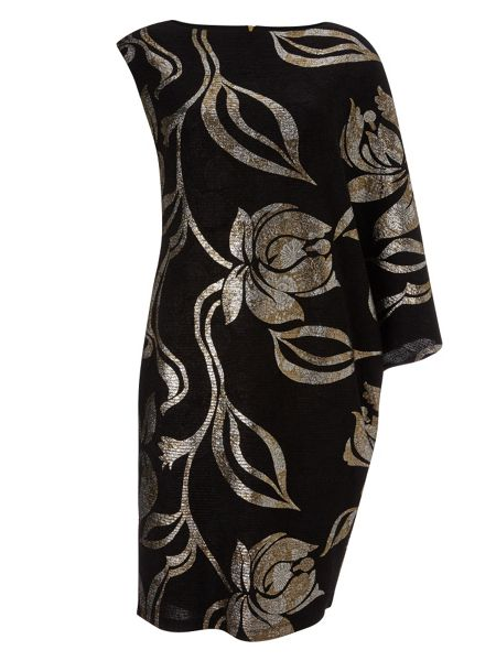 Phase Eight Florie foil print dress