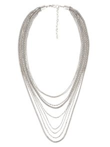 Phase Eight Nicki multi row necklace