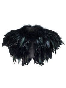 Phase Eight Azaria Feather Cape