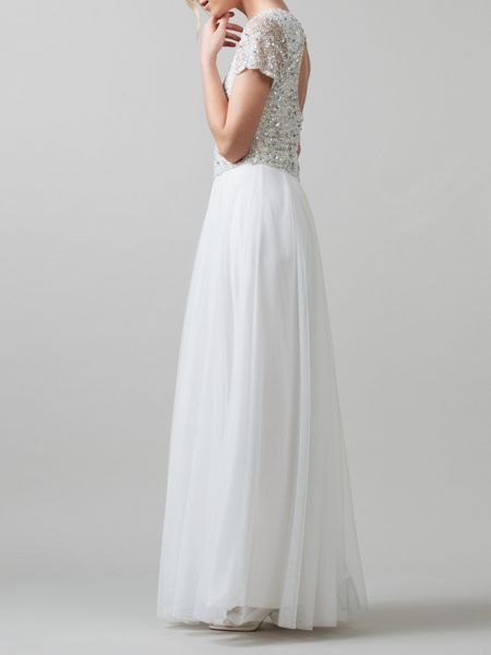 Phase Eight Evangeline embellished wedding dress