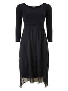 Stephanie silk jersey dress