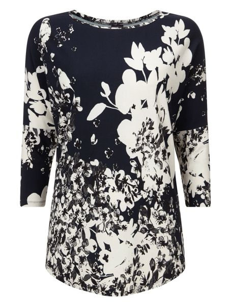Phase Eight Bird print catrina top