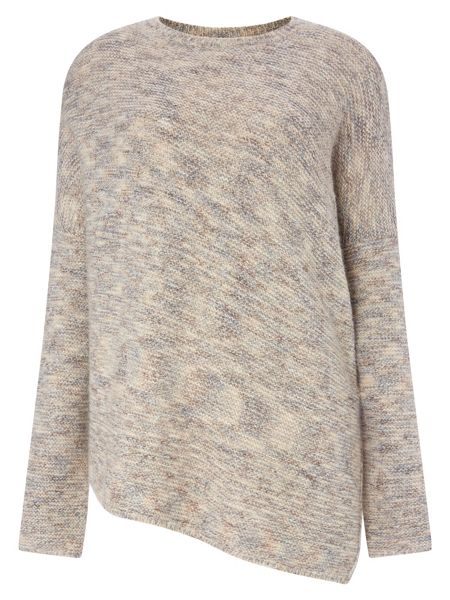 Phase Eight Chunky melinda asymmetric knit jumper