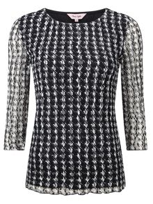 Phase Eight Dogtooth lace top