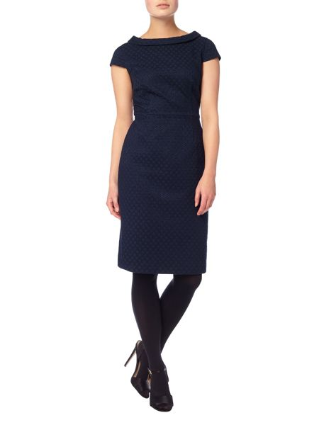 Phase Eight Monroe textured dress