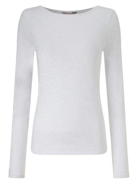 Phase Eight Slash Neck Tee