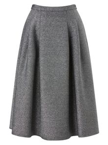 Phase Eight Shimmer scuba skirt