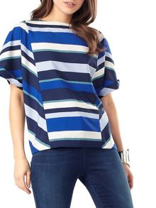Phase Eight Frida stripe blouse