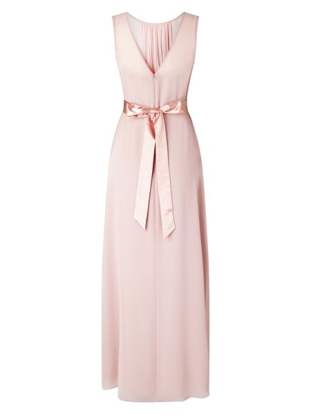 Phase Eight Rowena belted full length dress