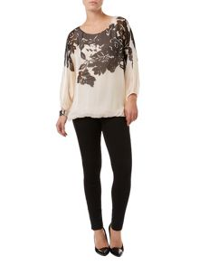 Phase Eight Ashlyn oversized silk blouse