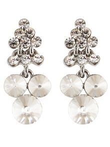 Maya crystal earrings