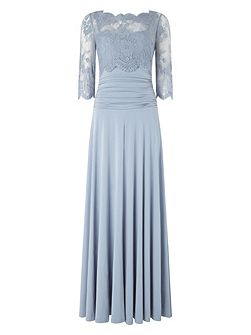Romily lace full length dress