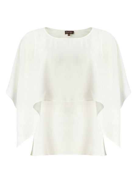 Phase Eight Kalila cape sleeve blouse