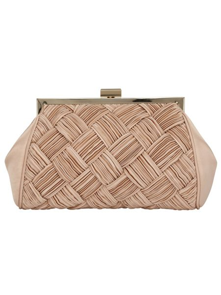 Phase Eight Alexie pleated satin bag