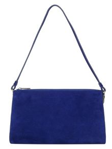 Phase Eight Rosie suede clutch bag