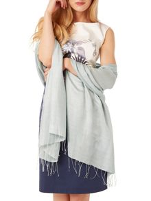 Phase Eight Diamond weave pashmina