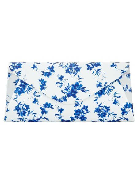 Phase Eight Flower Print Clutch