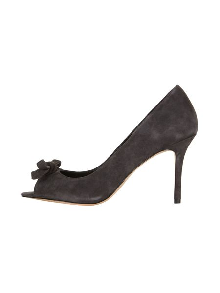 Phase Eight Elena Suede Peep Toe Shoes
