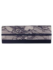 Phase Eight Mia lace clutch bag