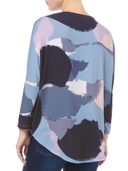 Phase Eight Colour block catrina top